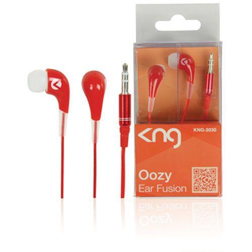Sluchátka KNG OZZY - červená