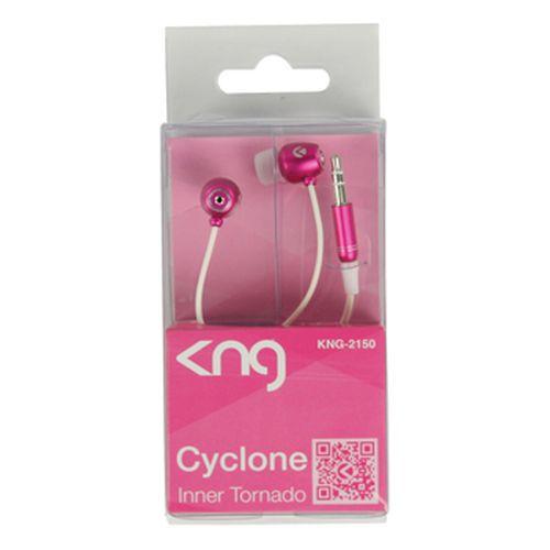 Sluchátka KNG CYCLONE - růžová
