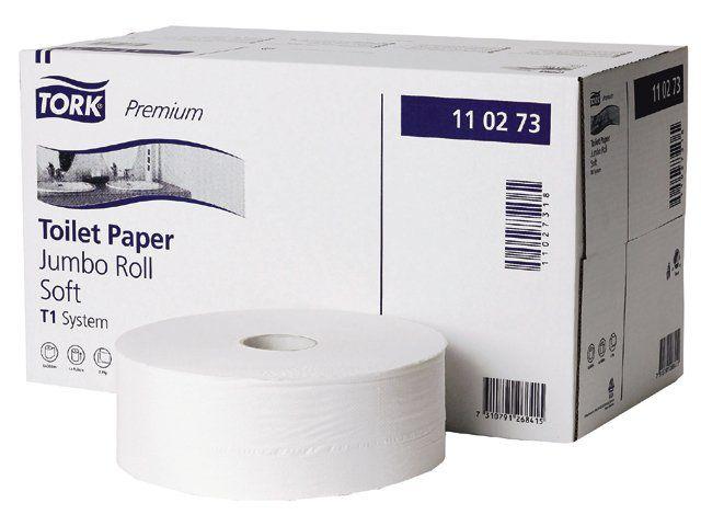 Toaletní papír Tork Jumbo Premium T1 v roli, 2 vrstvy, 6ks