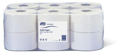 Toaletní papír Tork Universal T2 v Mini Jumbo roli, 1 vrstva, 12ks