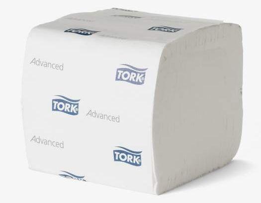 Toaletní papír Tork Advanced T3 skládaný, 2 vrstvy