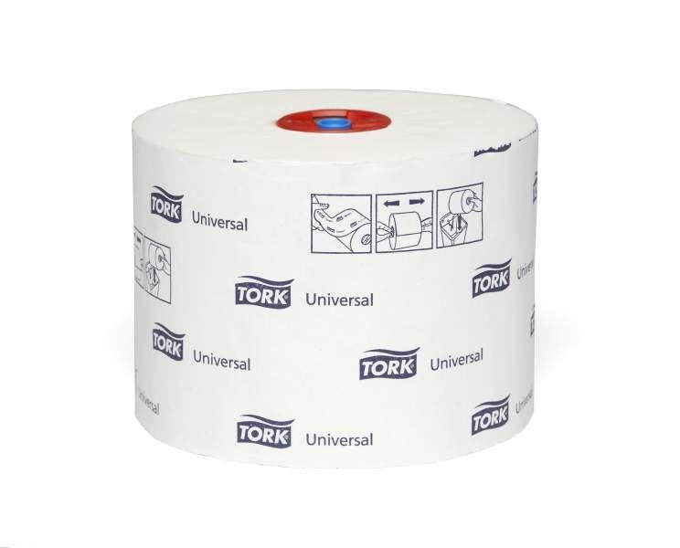 Toaletní papír Tork Universal T6 kompaktní role, 1 vrstva, 27ks