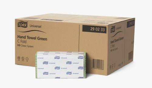 Ručníky Tork Universal papírové skládané, zelené, 20x160ks