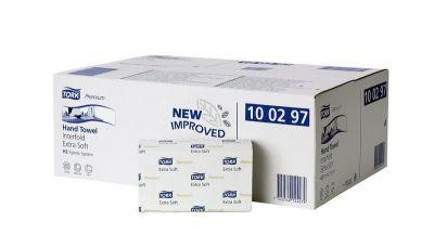 Ručníky Tork Premium Extra Soft Interfold papírové skládané, bílá TAD H2, 21x100ks