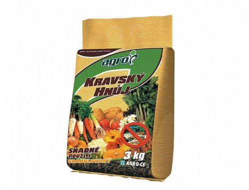Hnojivo Agro Pravý kravský hnůj 2.5 kg