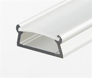Prowax Hliníkový profil TAMI anodizovaný, bez difuzoru