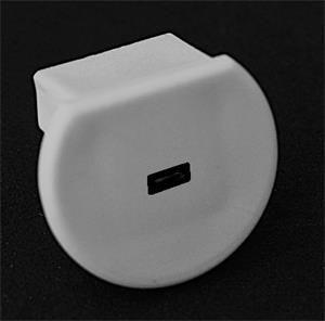 Záslepka Prowax PVC pro PDS-O s otvorem
