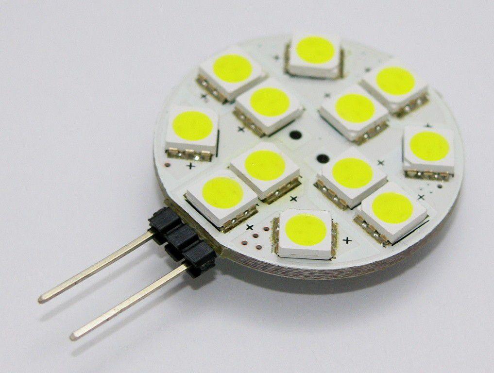 Žárovka G21 LED G4-12SMD 12V, 2.1W, 150lm, bílá