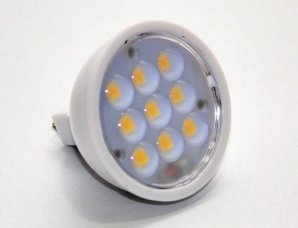 Žárovka G21 LED G5.3/MR16 9SMD,12V, 3W, 300lm, teplá bílá