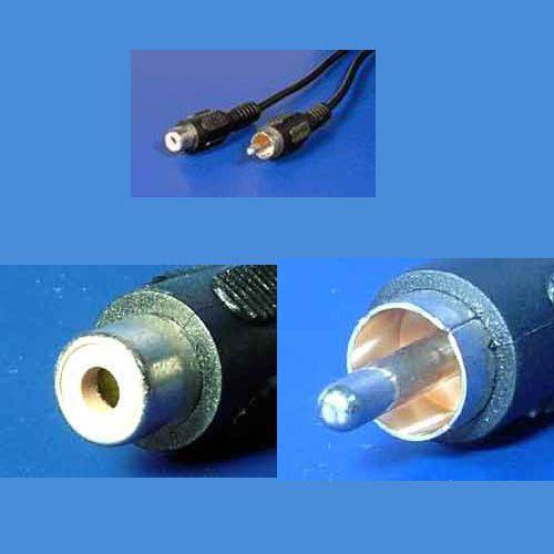 Kabel prodlužovací cinch(M) - cinch(F), 5m