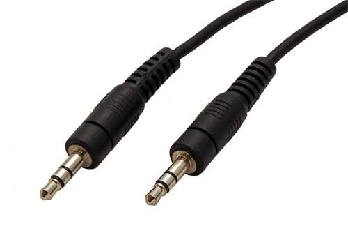 Kabel Roline propojovací audio Jack 3,5(M) - Jack 3,5(M), 1m