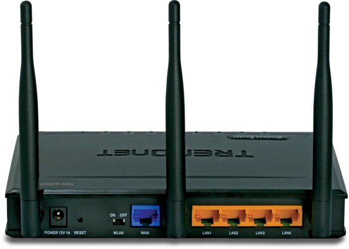 WiFi router Trendnet TEW-639GR Gigabit AP/router, 4x LAN, 1x WAN - 300Mbps