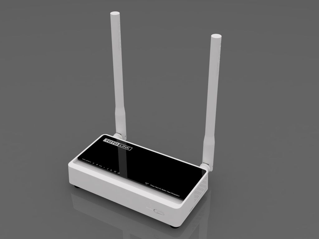 WiFi router Totolink  N200RE AP/router/repeater, 4x LAN, 1x WAN (2,4GHz, 802.11n) 300Mbps,