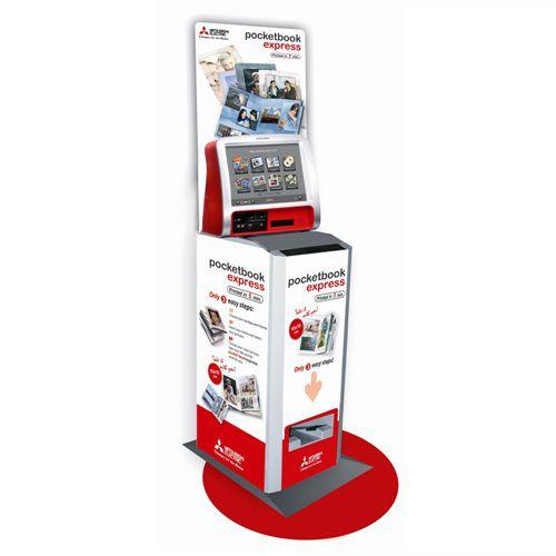 Fotokiosek Mitsubishi Expres Fotokniha (kiosek na okamžitou výrobu fotoknížek 10x15cm) DEM