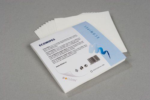 D Clean Hydraspunová utěrka 15x15 cm (100 ks)- čistící utěrka