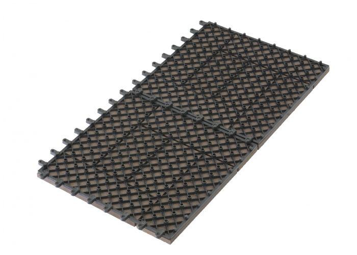WPC dlaždice G21 Samoa indický teak 2,3x30x30 cm