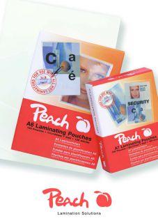 Laminovací fólie Peach PP525-04 lesklé 100ks, A6, 125mic