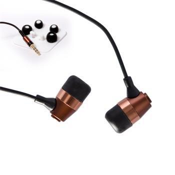 Sluchátka crono E-12B , 20-20000Hz, 32ohm, bronzově černá  barevná kombinace