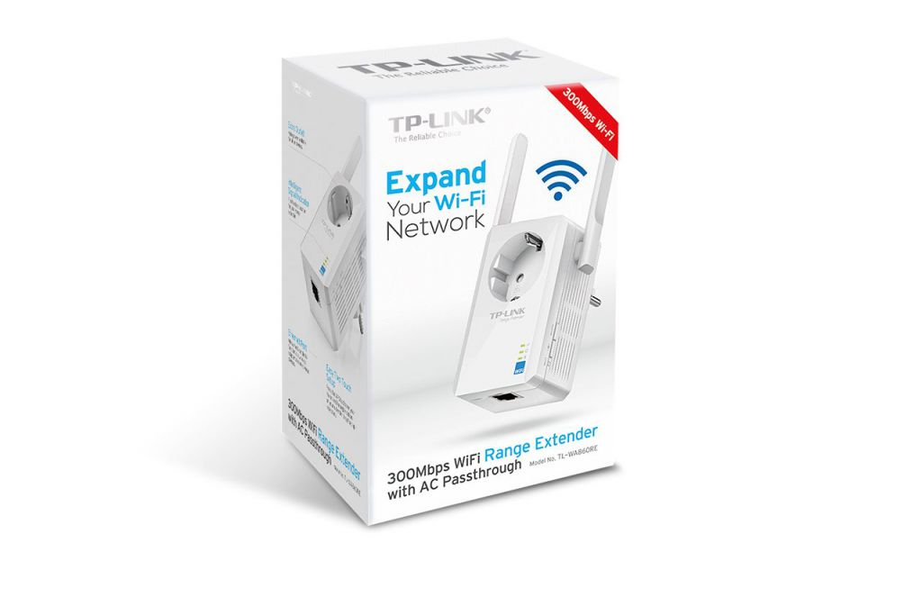 WiFi router TP-Link TL-WA860RE Extender/Repeater - 300 Mbps