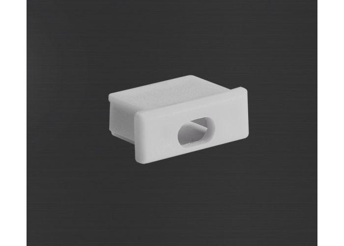 Prowax Plastová záslepka profilu Micro-Alu, estetické ukončení profilu s otvorem pro kabe