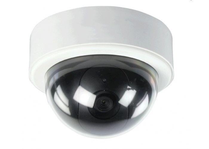 Atrapa KÖNIG kamera venkovní s blikající LED