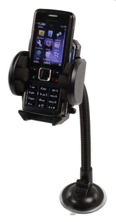 Držák basicXL telefonu univerzální do automobilu, krk 26 cm