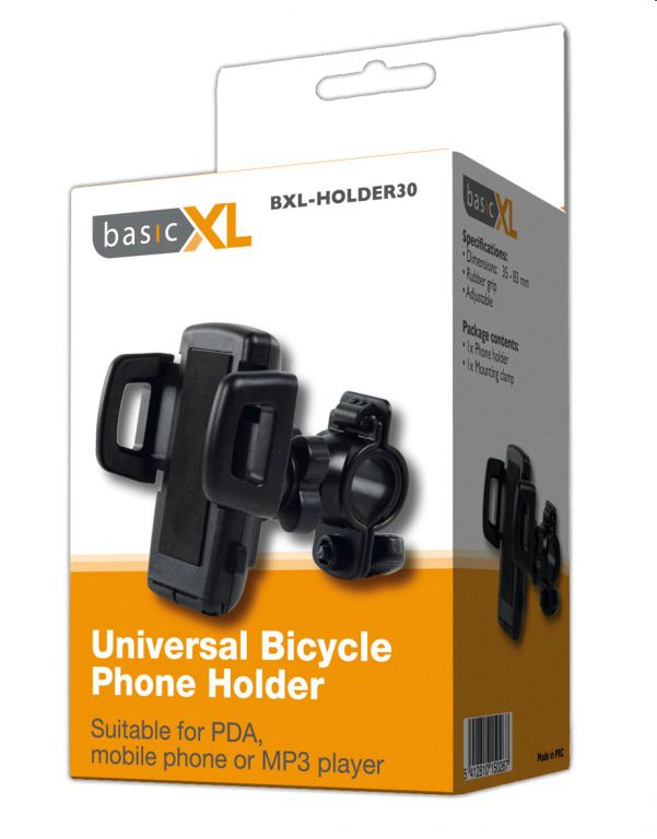 Držák basicXL telefonu univerzální na řídítka na kolo