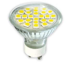 Žárovka Premium Line lighting LED GU10, 230V, 4W, 290lm, studená bílá