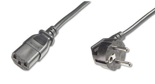 Kabel PremiumCord síťový 230V k počítači 2 m