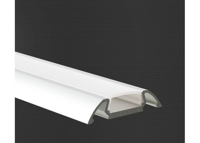Hliníkový profil Prowax STOS - ALU anodizovaný, bez difuzoru - 2m