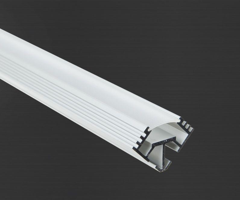 Hliníkový profil Prowax TAN-C5 anodizovaný, bez difuzoru - 2m
