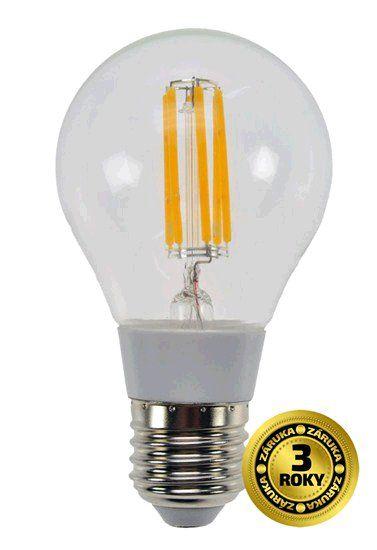 Žárovka Solight LED E27, 230V, 6W, 560lm, teplá bílá, retro