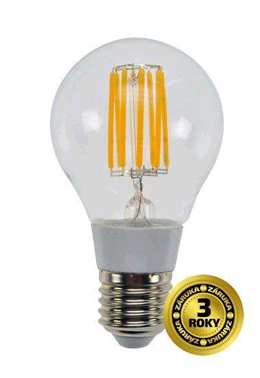 Žárovka Solight LED E27, 230V, 8W, 750lm, teplá bílá, retro