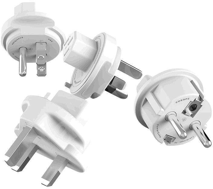 Zásuvka PowerCube TRAWEL PLUGS příslušenství k ReWirable