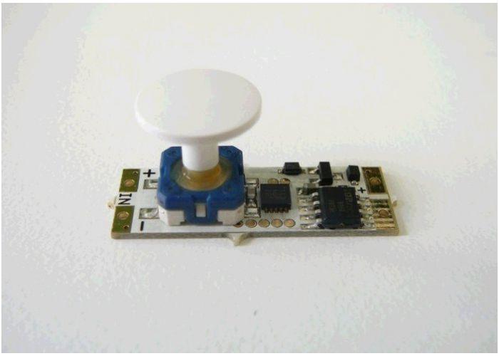 LED stmívač TLE do profilu s tlačítkem 12-24V