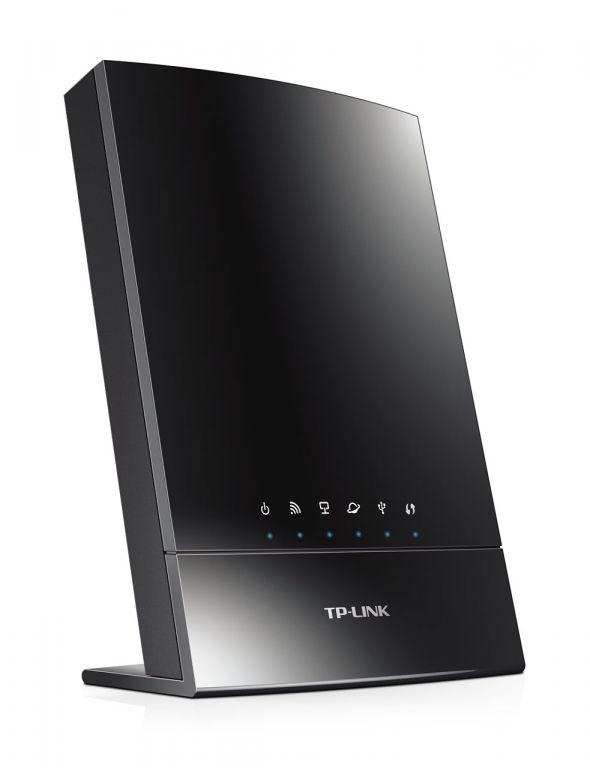WiFi router TP-Link Archer C20i AC733 dual AP/router, 4x LAN, 1x WAN, 1x USB/ 300Mbps 2,4/