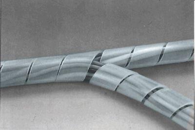 Páska spirálová k organizaci kabeláže 12-70mm 10m ČIRÁ