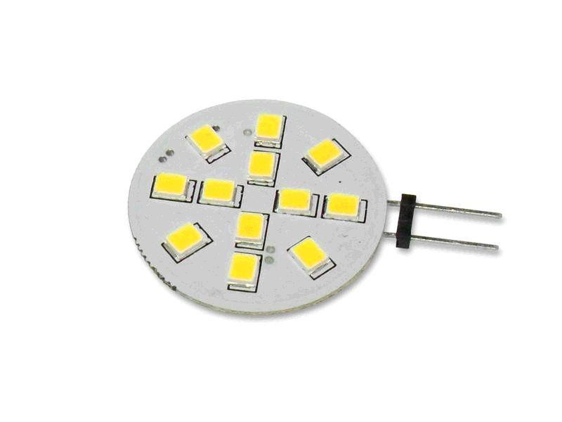 Žárovka Lumenmax LED G4, 12V, 2W, 210lm, studená bílá