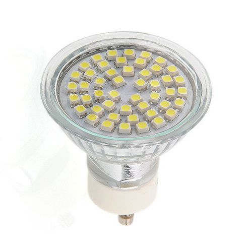 Žárovka ORT LED GU10, 230V, 3,5W, 300lm, teplá bílá