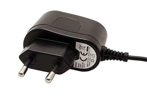 Adaptér goobay nabíjecí 230V - microUSB, 5V/1,2A, černý