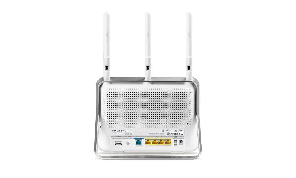 WiFi router TP-Link Archer C9 AC1900 dual AP, 4x LAN Gigabit, 2x USB/ 600Mbps 2,4/ 1300Mbp