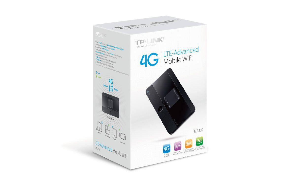 Modem TP-Link M7350 s WiFi routerem, 3G/ 4G LTE, baterka, displej