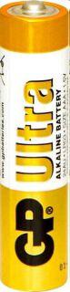 Baterie GP Ultra Alkaline mikrotužka 1,5V, LR03 AAA, 1 ks
