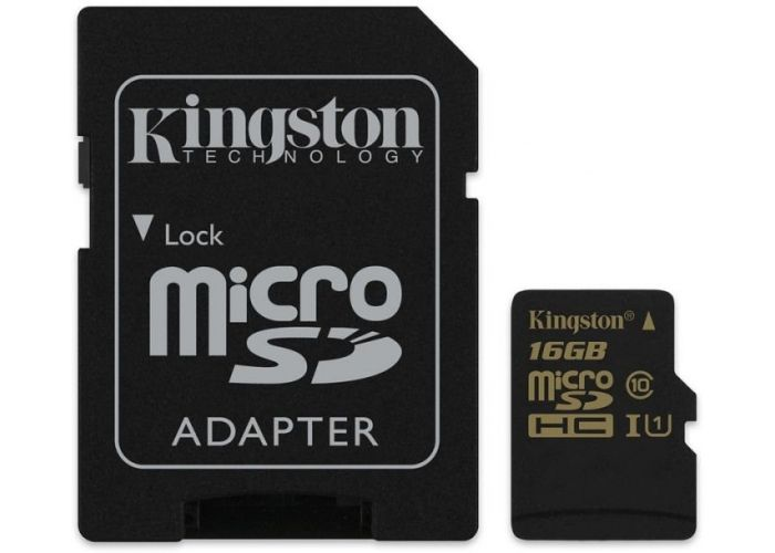 Paměťová karta Kingston micro SDHC UHS-I 16GB, 90R/45W, class 10