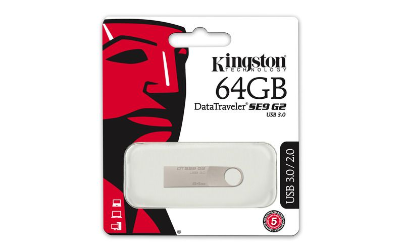 Flashdisk Kingston DataTraveler SE9 64GB, USB 3.0