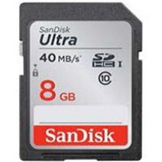 Paměťová karta Sandisk Ultra SDHC 8 GB 40 MB/s Class 10 UHS-I