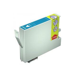 Inkoust T0712 kompatibilní azurový pro Epson Stylus D78 (15ml)