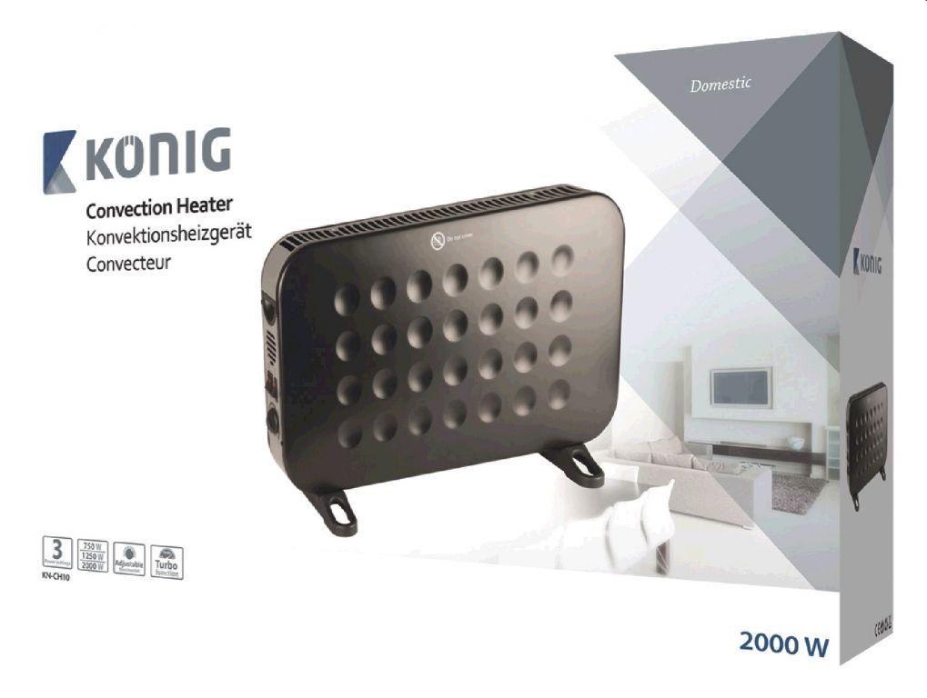 Konvekční ohřívač 2 000 W