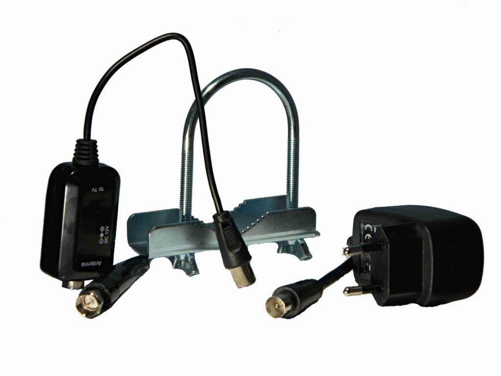 Anténa Zircon Predator aktivní venkovní, pro příjem DVB-T s LTE, FM a DAB