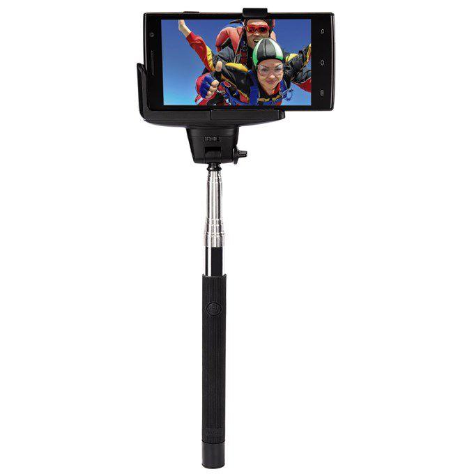 Selfie MOMENTS 100, Bluetooth, selfie s integrovanou spouští, černý/st